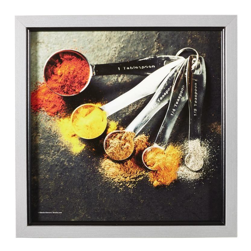 Wandbild für Ihre Küche aromatische Gewürze inspirieren beim Kochen - wandbilder für küche