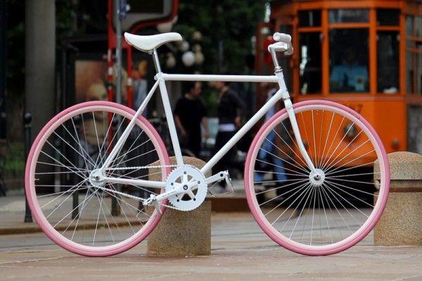Una bici Cicli Maestro