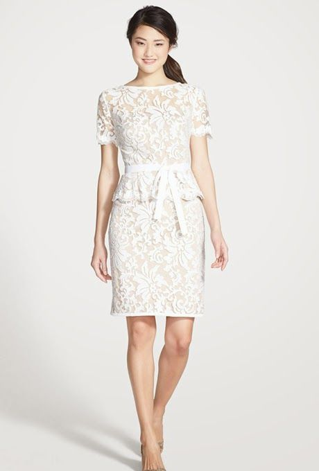 Atractivos vestidos de novia cortos 2015 | vestido | Pinterest ...