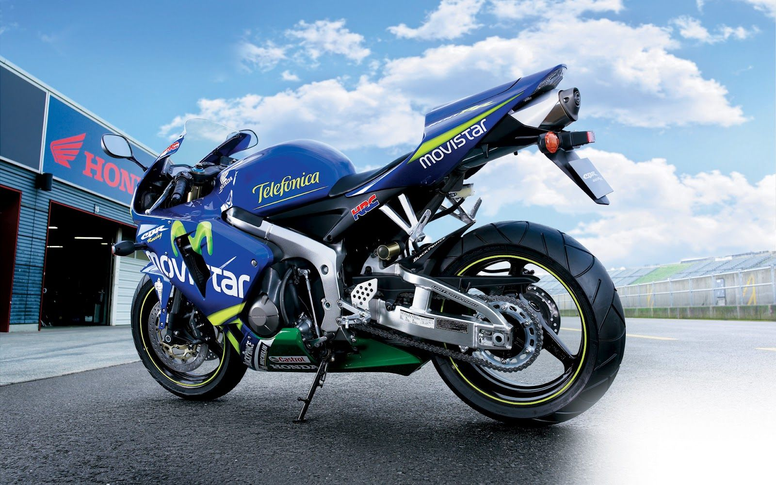 Honda Racing Hd Bike Wallpapers Racing Bikes Wallpaper Honda