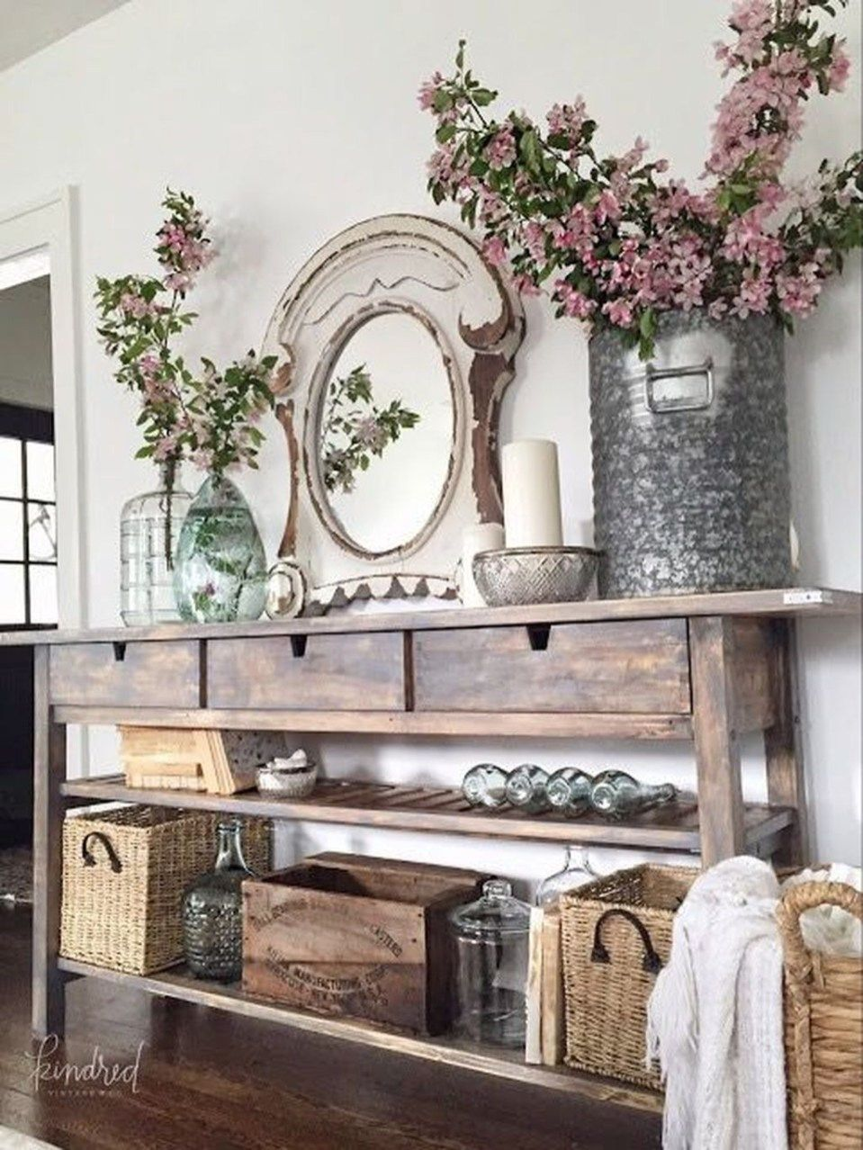 50 Modern French Country Dining Room Table Decoration Ideas    50homedesign.com