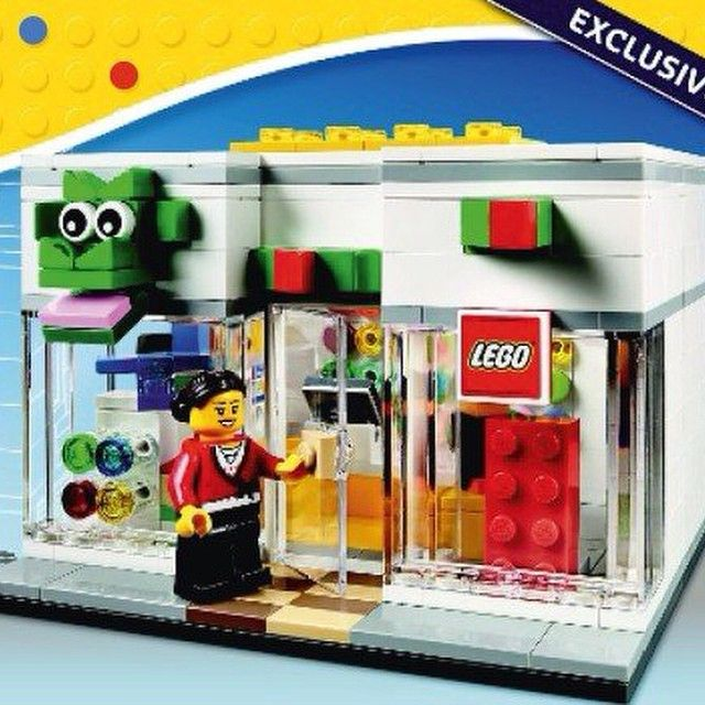 Instructions for a new LEGO Brand Store model, 40145 on the LEGO ...
