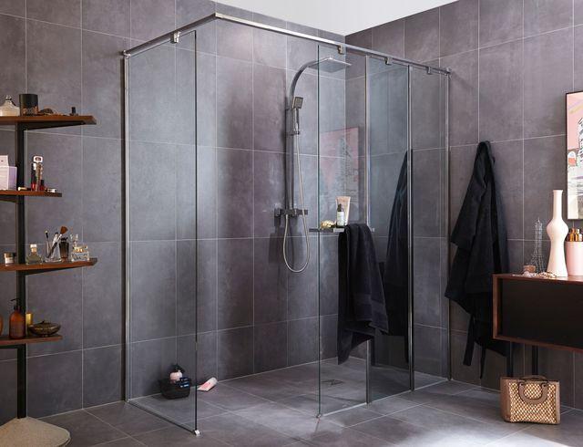 briques verre pavés douche salle bains vitre briques de verre