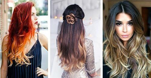 Pomysły Na Fryzury Ombre Dla Długich Włosów Włosy