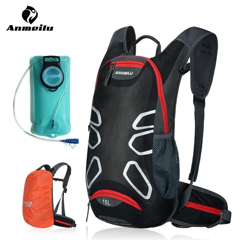 1772f56c5fd4 ANMEILU Bicycle Bags Waterproof MTB Road Mountain Bike Water Bags Pannier Climbing  Cycling Basket Backpacks Bicycle Accessories