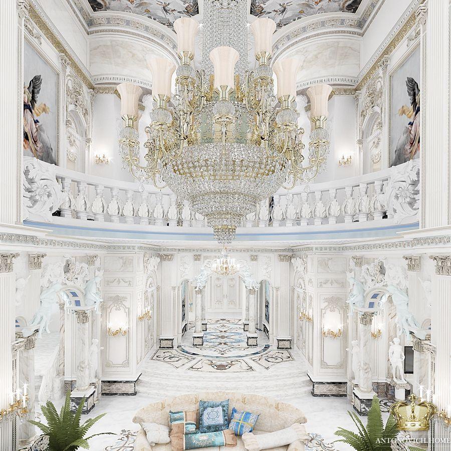 Luxury Foyer Interior Design: Luxury Foyer By Antonovich Designs