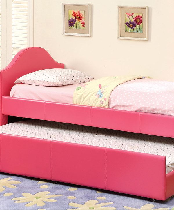 Look at this Pink Cody Trundle Daybed on #zulily today!