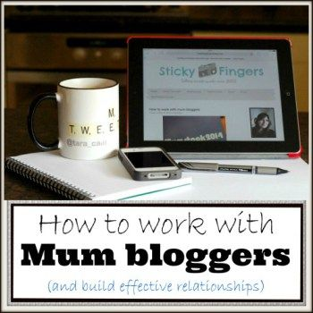 hHow to work with mum bloggers