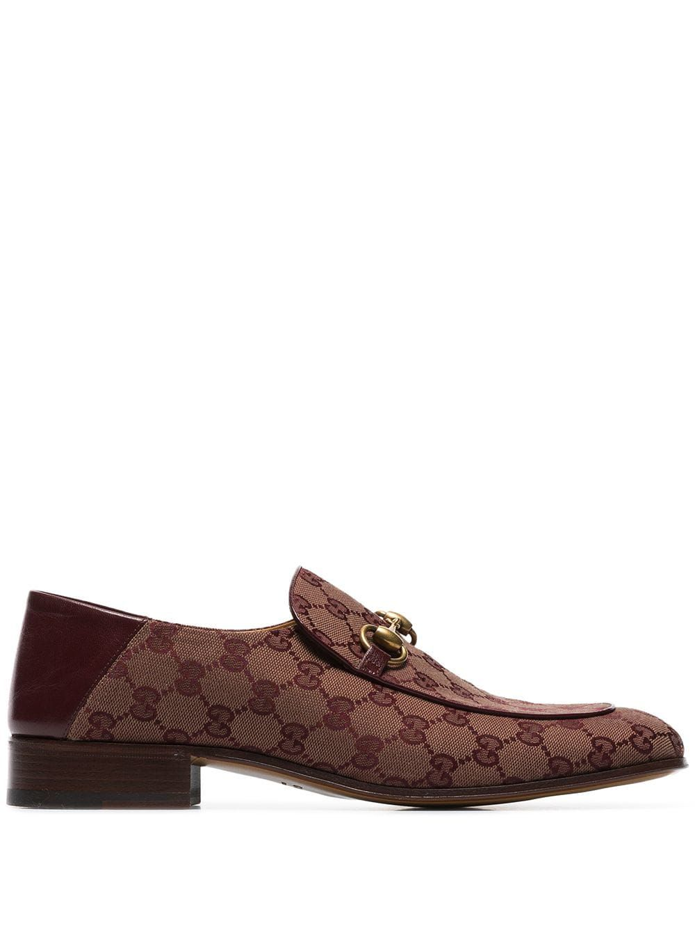 d6fe2aa35ae GUCCI GUCCI MISTER HORSE-BIT LOGO LOAFERS - RED.  gucci  shoes ...
