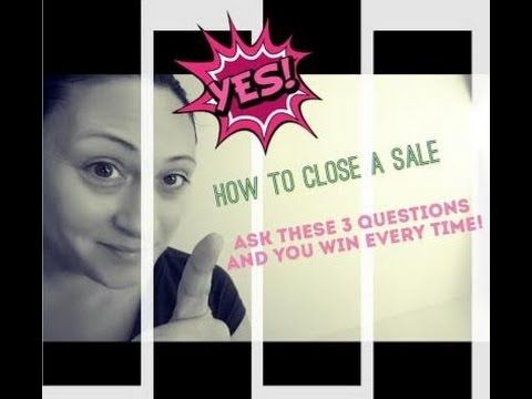 How To Close A Sale In MLM - Ask These 3 Questions, Win Every Time! http://www.lisatorresspeaks.com/blog/how-to-close-a-sale-in-mlm-3-simple-questions-to-address #Sales