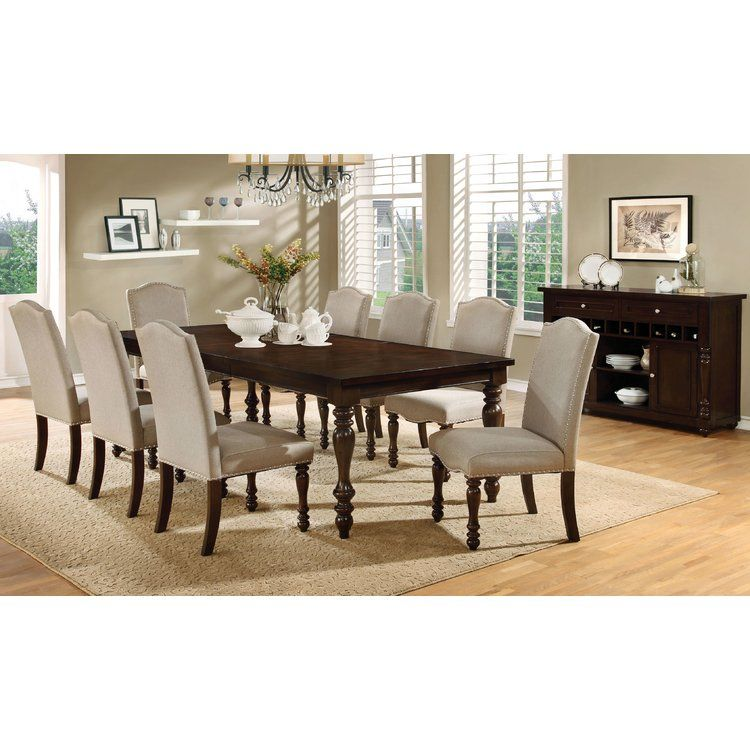 Calila 9 Piece Extendable Dining Set Dining Table