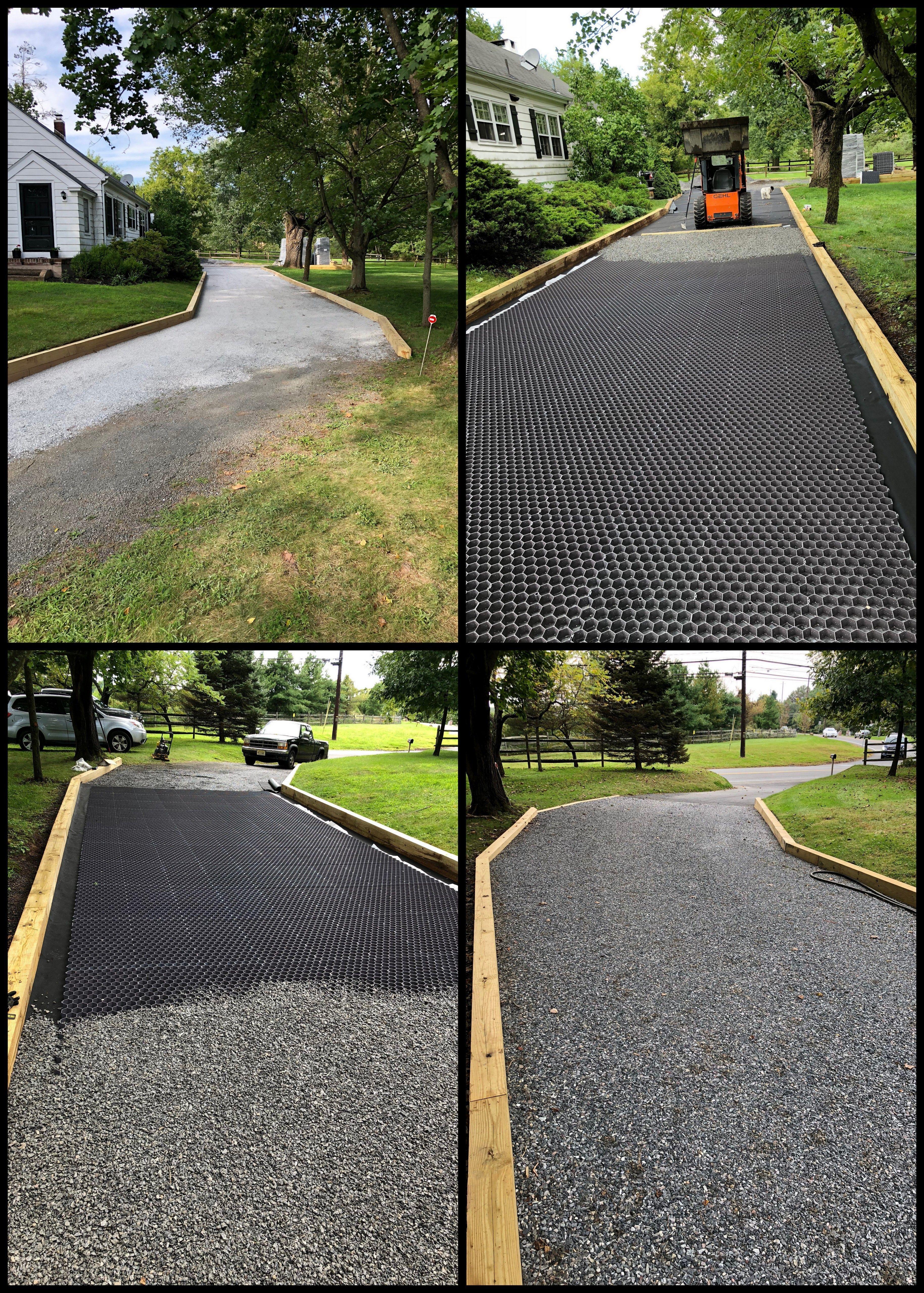 Core Gravel Foundation Stabilized Gravel Driving Area