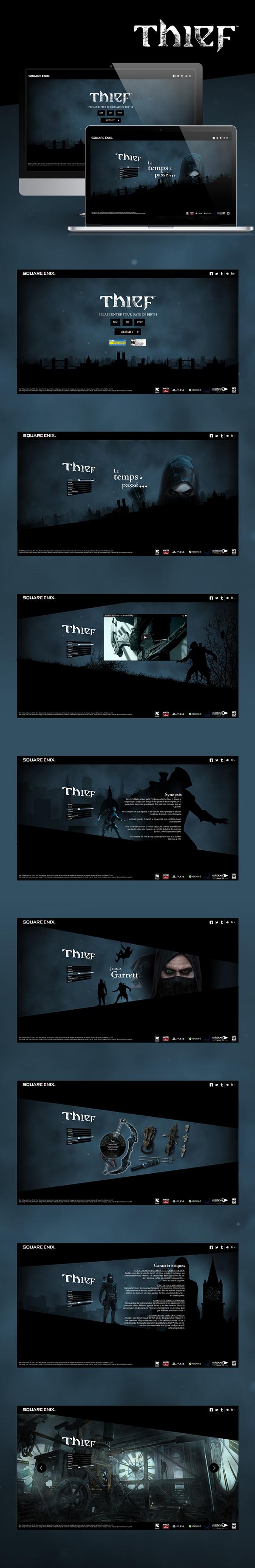 Thief on Behance
