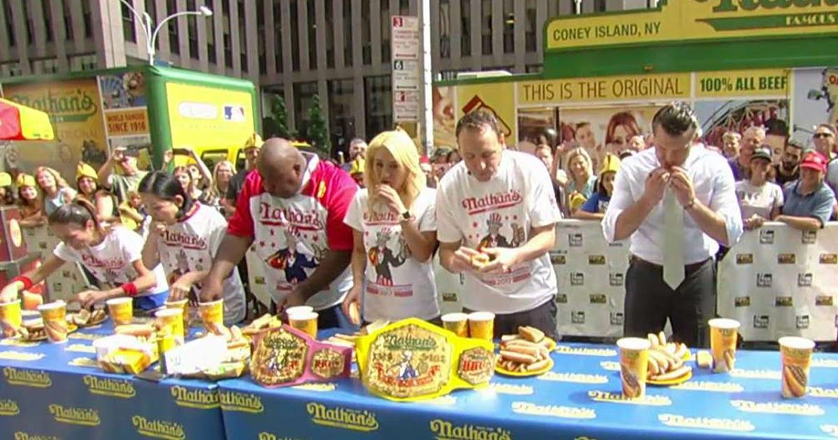 Betting on Nathan's Hot Dog Eating Contest denied in New
