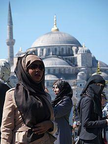 Arabische kleidung frauen wikipedia