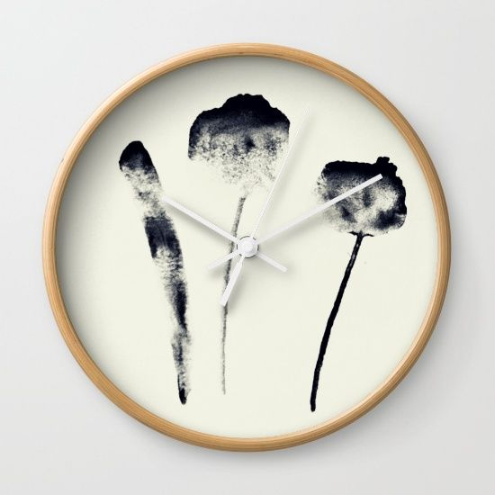 Three Wall Clock