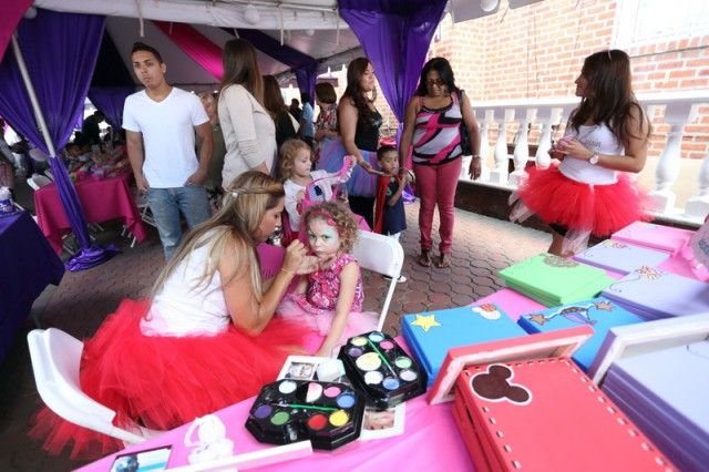 A Delightful Candy Land Party :Custom Canvases
