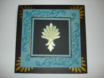 . . . . . . me stamp 2 . . . .: Stamp of the Month Blog Hop - Baroque Borders