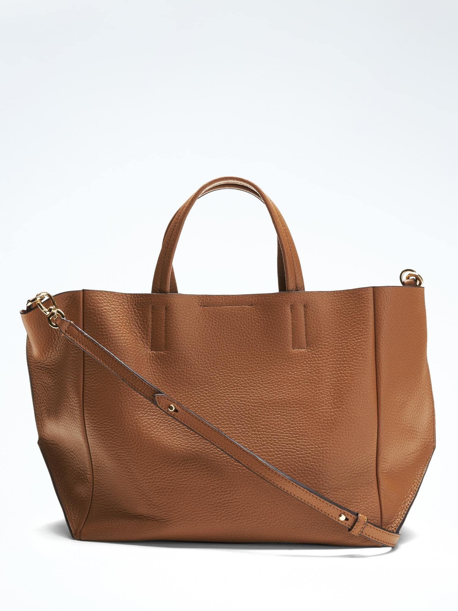 383271162794 Portfolio Slouch Italian Leather Tote