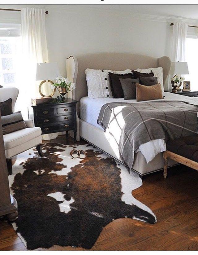 Neutral Bedroom Monochromatic Bedroom Masculine Bedroom Western Bedroom Decor Farmhouse Bedroom Decor Rustic Bedroom