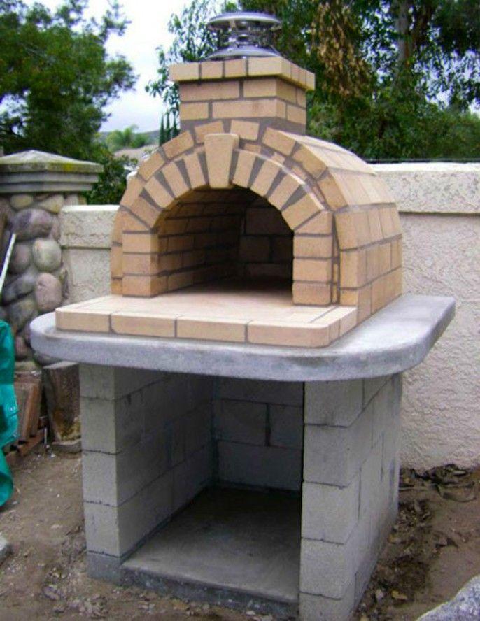 DIY un horno de pizza al aire libre