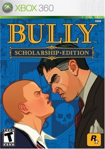 For X Box 360 Bully Game Wii Games Rockstar Games