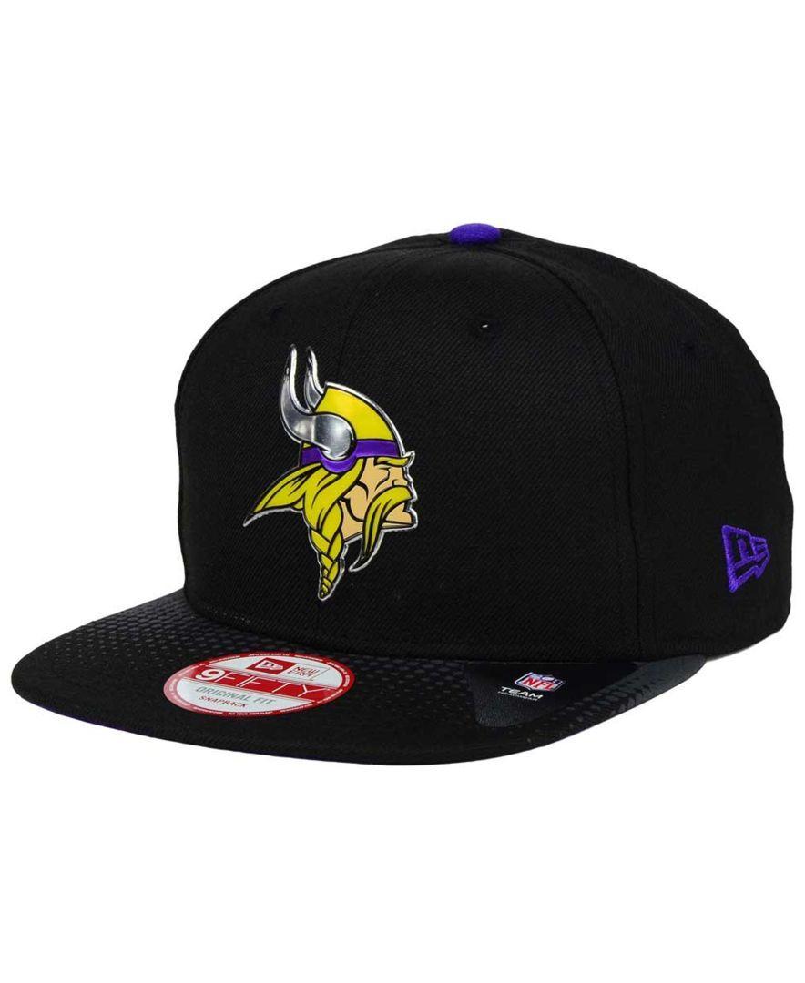 New Era Minnesota Vikings Draft Redux 9fifty Snapback Cap Sports Fan Shop By Lids Men Macy S Minnesota Vikings Snapback Cap Hats For Men