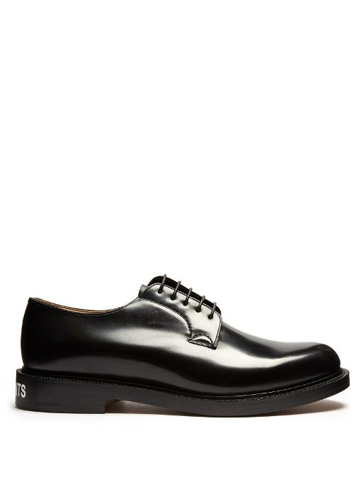 4002b22ca0 VETEMENTS X Church's leather derby shoes. #vetements #shoes #shoes Herren  Derby Schuhe
