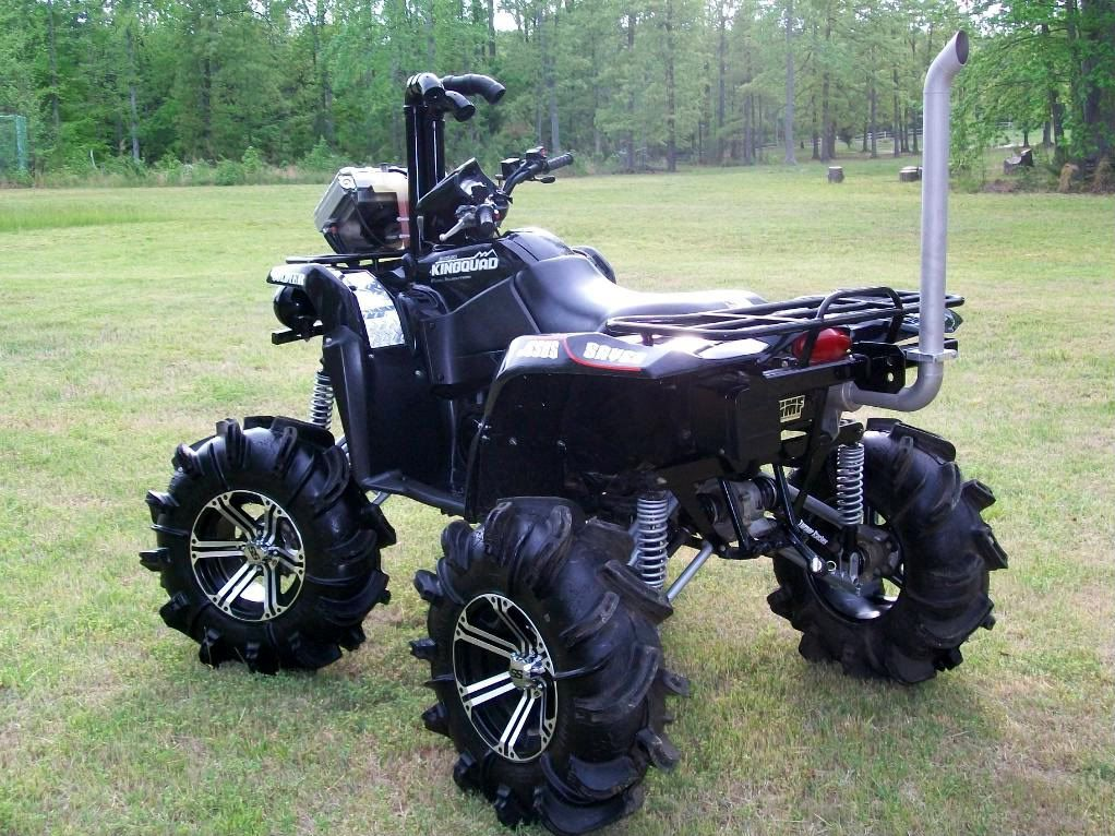 lifted suzuki king quad 700 king quad 6 lift broke. Black Bedroom Furniture Sets. Home Design Ideas