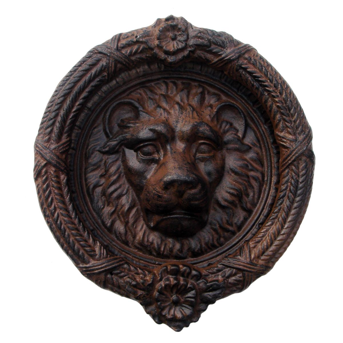 Rustic Door Knockers First Impressions Door Knocker The Pair Of Large Lion