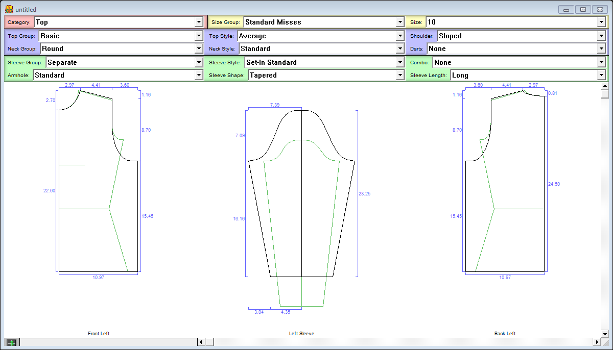 Garment Designer Overview Pattern Making Software Clothes