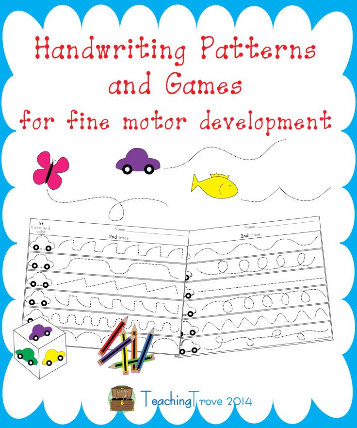 handwriting patterns school fun fine motor tray activities kids learning activities. Black Bedroom Furniture Sets. Home Design Ideas