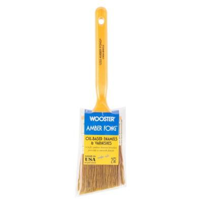 Wooster 2 In Amber Fong Angle Sash Bristle Brush 0012330020 Natural Brushes Paint Stain White Enamel