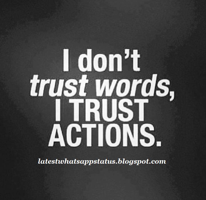 Trust Break Status