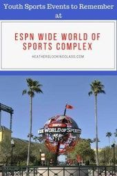 The ESPN Wide World of Sports Complex at Walt Disney World does a lot more than