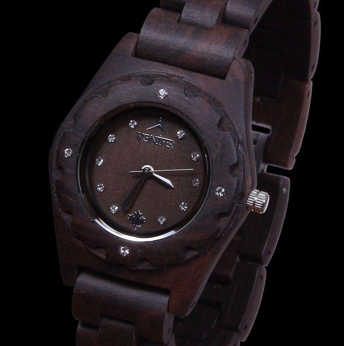 """Amazing Watch made from Wood """"Bonzai""""   Konifer Watch"""