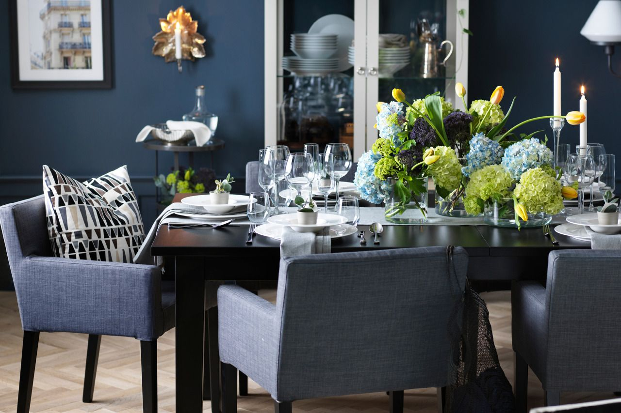 With A Dining Setting This Beautiful The Meal Can't