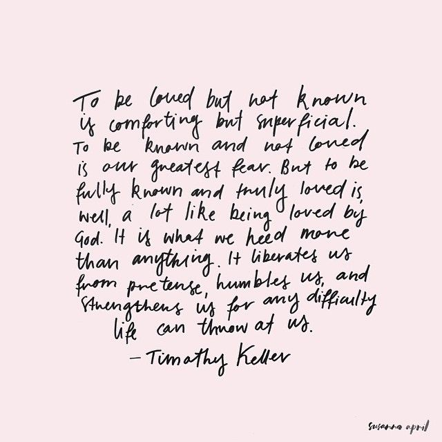 Quote By Tim Keller Type By Susanna April W O R D S P O E M S Interesting Timothy Keller Quotes