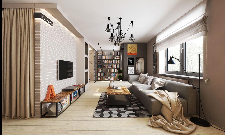 studio-apartment-design   Apartment design inspiration ...
