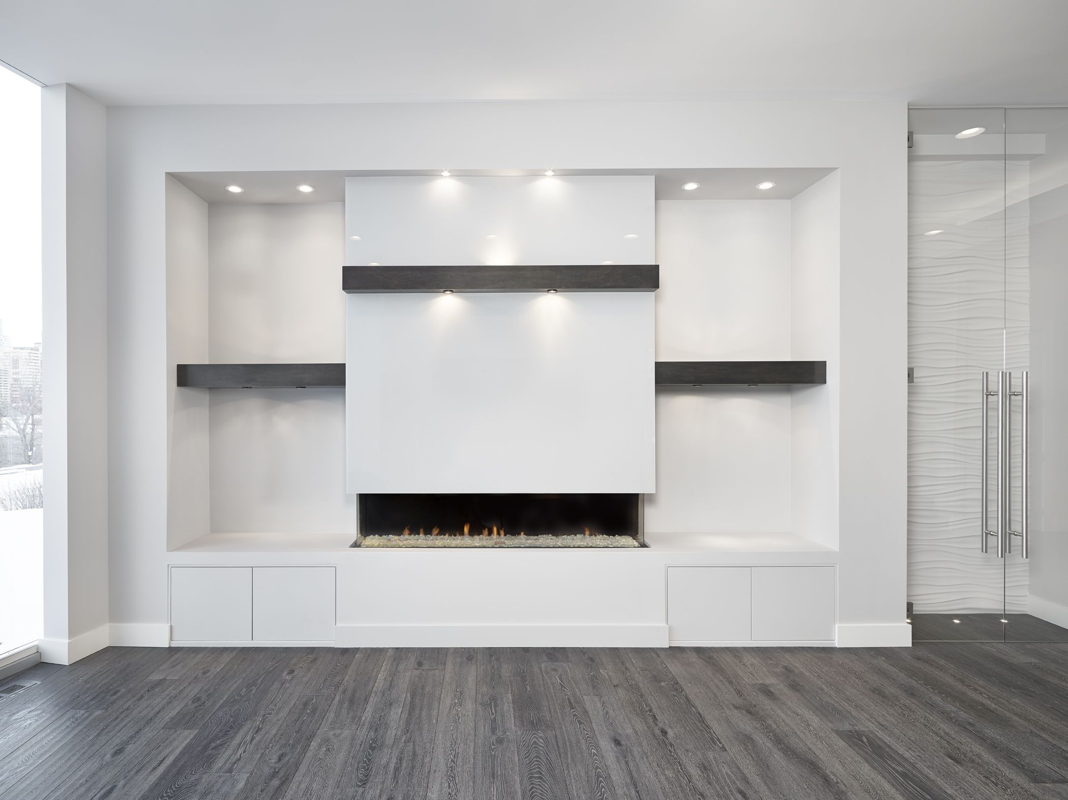 Scona Road Infill - Living Room | Fire place | Pinterest | Living ...