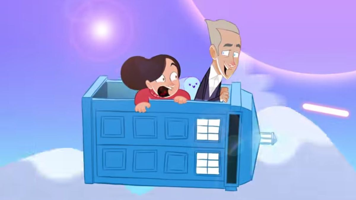 Doctor Who would make a pretty awesome animated series