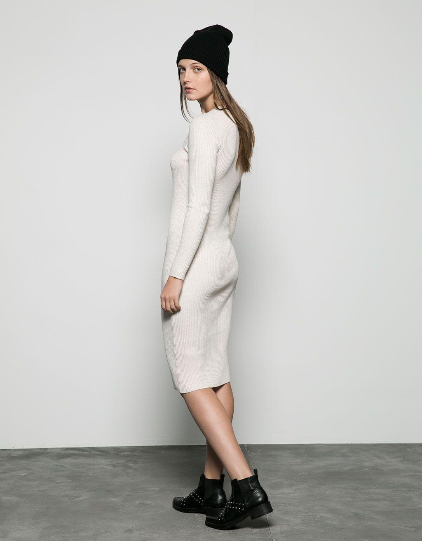 Платья в рубчик длинное