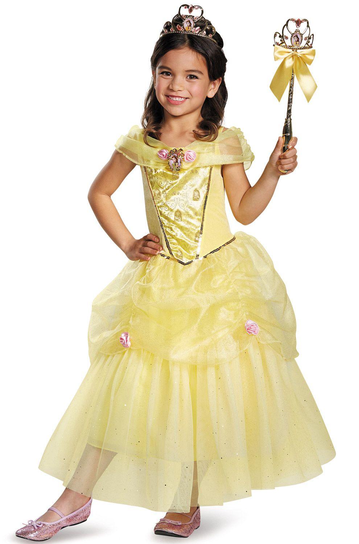 Disney Beauty and the Beast Belle Prestige Child Costume