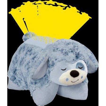 Baby Animal Pillows Toys Gift Blue Dog