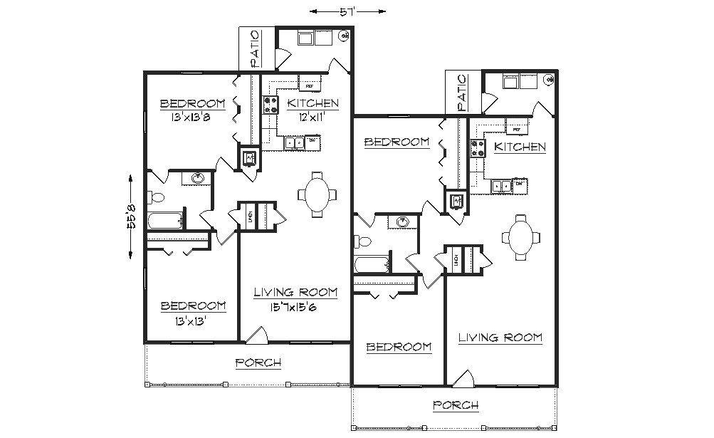 Pin By Judy Hawkins On Duplexes Floor Plans Town Homes Duplex Floor Plans Floor Plans Cargo Home