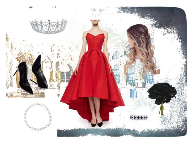"""Enchanted"" by habibakenawy on Polyvore featuring Zac Posen, Bling Jewelry and Mark Broumand"