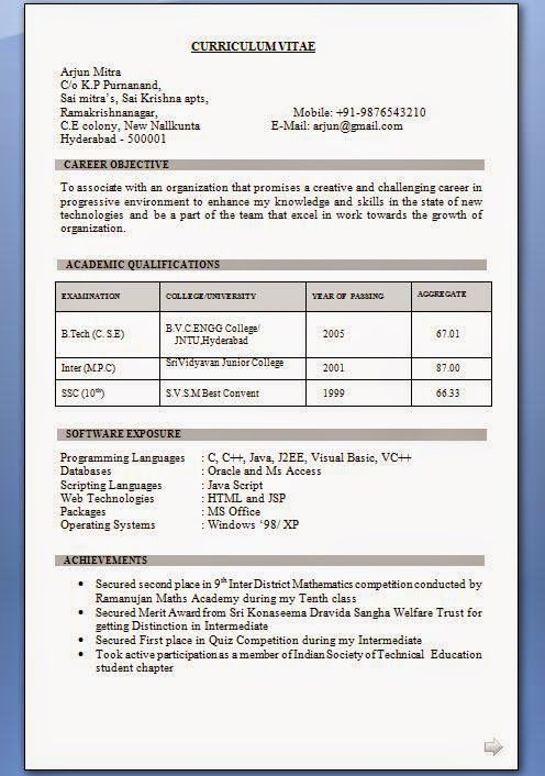 free cv templates uk Sample Template Example of ExcellentCV / Resume