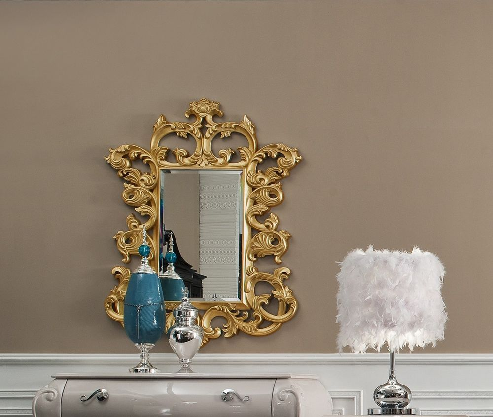 Decorative Wall Mirror Lissette Framed Wall Decorative Wall - Decorative gold mirrors
