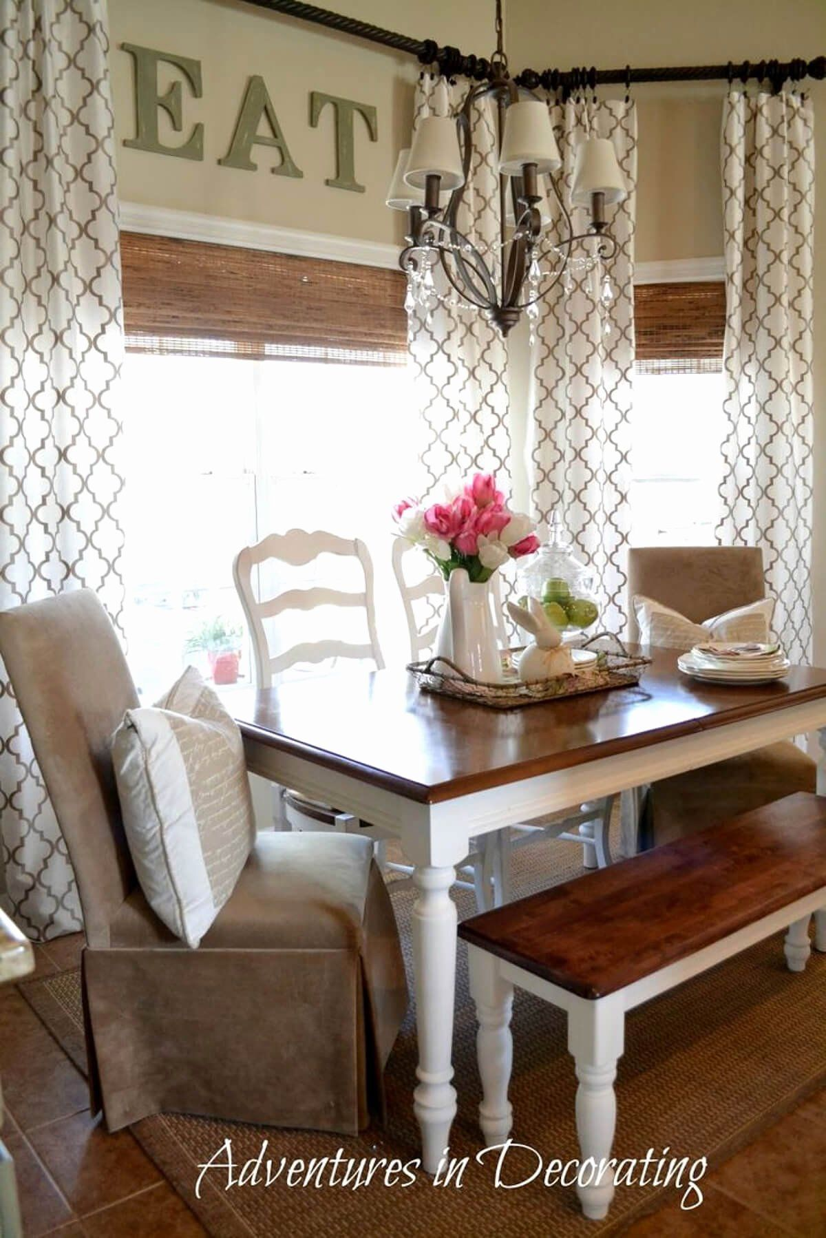 Dining Room Curtain Styles Beautiful 26 Best Farmhouse Window Treatment Ideas And Designs For 2020 Di 2020