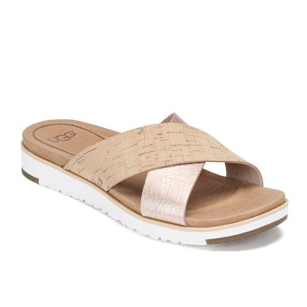564e12ca4cf NEW UGG Kari Slide Sandals Cork Rose Gold - 10 M #UGGAustralia ...